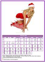 Calendrier tubes femmes du mois de décembre