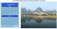 Calendrier à imprimer bimestriel, format paysage, avec photo à droite